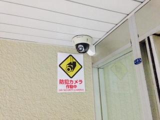 カメラエントランス天井取付