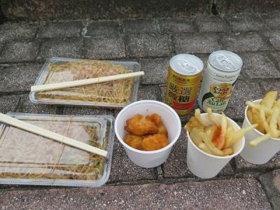 学祭お昼ご飯