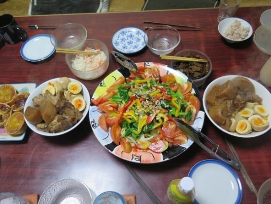 ソーキと大根の煮物と煮たまご