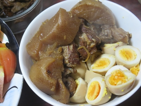 ソーキと大根の煮物&煮たまご