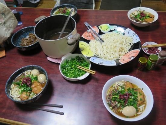 ソーキそば風讃岐うどん乾麺