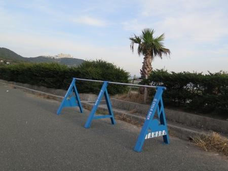 伊良湖岬 自転車の駐輪用