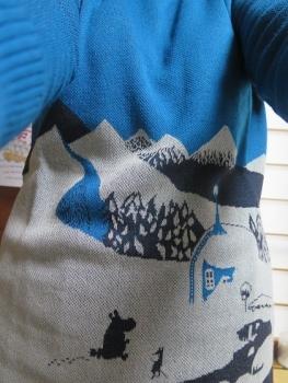 ムーミンのセーター