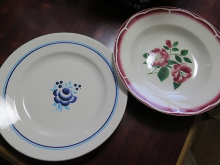 フランスのアンティーク皿