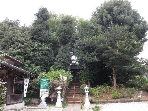 御嶽神社富士塚