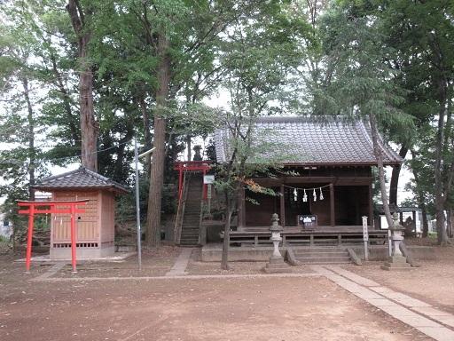 八王子神社富士塚