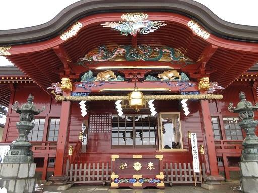 御嶽神社拝殿