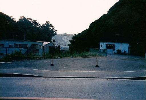 大塚古墳群付近遠景(造成中)