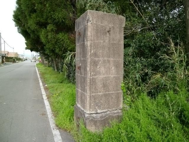 菊地飛行場門柱 (2)