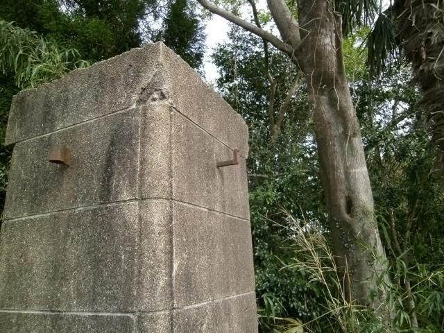 菊地飛行場門柱 (3)