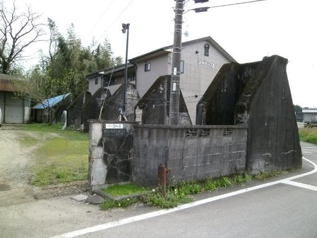 菊地飛行場格納庫基礎 (1)