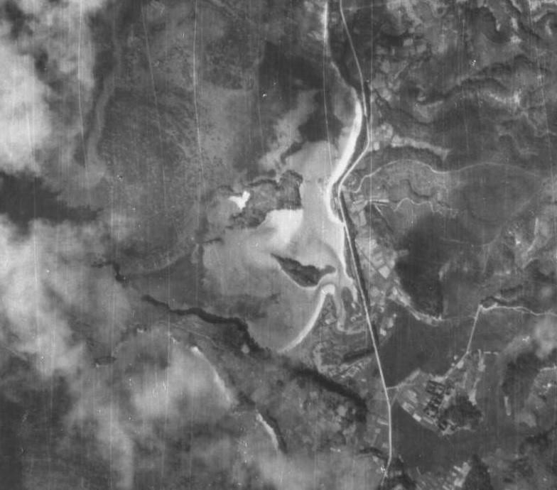 ギナン原航空写真