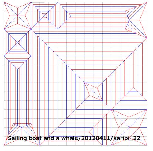 帆船とクジラ(2016WOD)