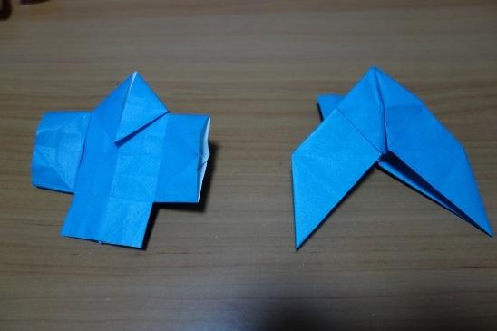 折り紙の : 折り紙 やっこ : karipi18.blog.fc2.com