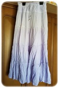 夏のスカート