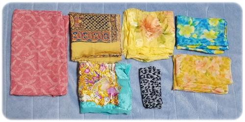 スカーフ7種