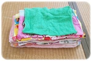 台ふきんにするタオル