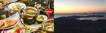 353-340料理と景色