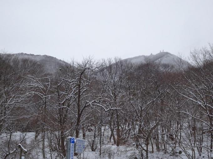 姫百合Pから地蔵岳
