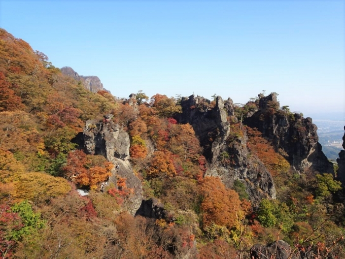 見晴岩から