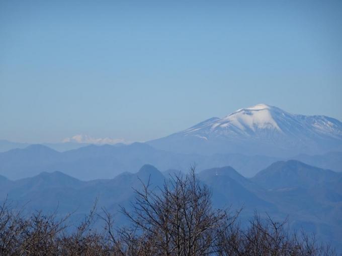 浅間山と乗鞍岳