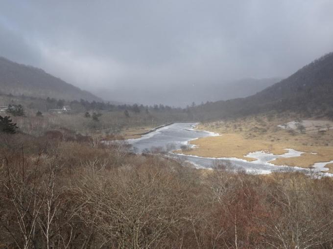 鳥居峠から覚満渕