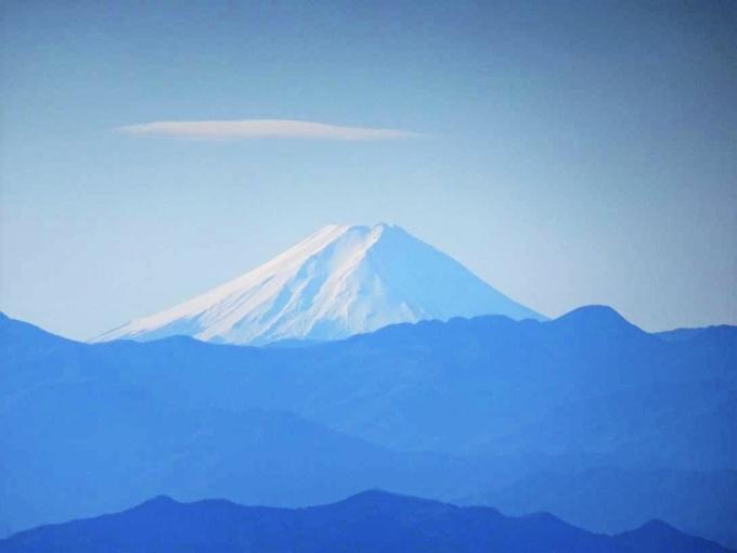 地蔵岳から富士山