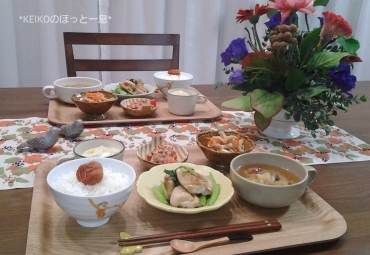 怪味チキン定食3