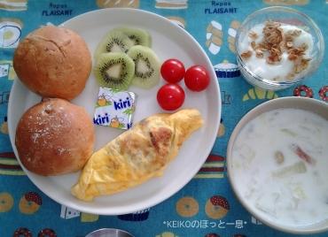 ミルクスープとミニオムレツ2