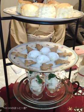 2016年紅茶教室クリスマスパーティー4