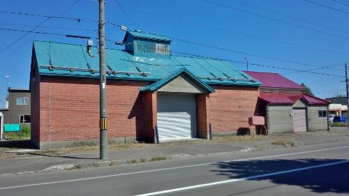 滝川 軟石倉庫 煉瓦部分