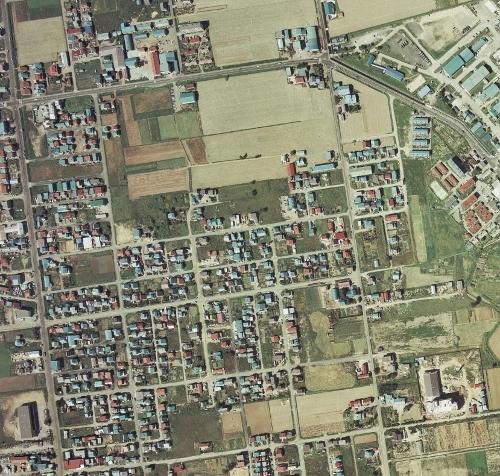 1976年空撮 北41条東16~19丁目