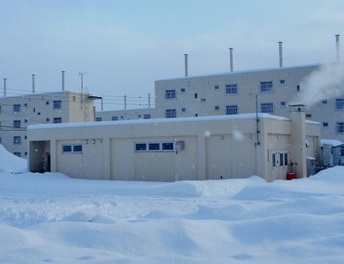 雇用促進住宅野幌宿舎 浴場