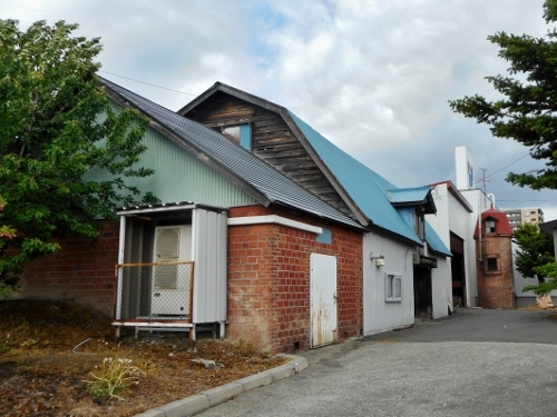 小野幌・Sさん宅の倉庫、サイロ