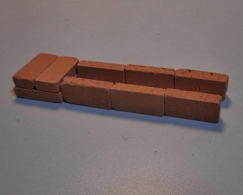 小野幌 Sさん宅倉庫 煉瓦組積法 想像模型