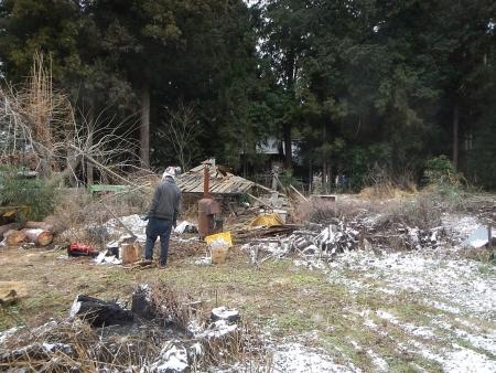 薪置き場 (2)