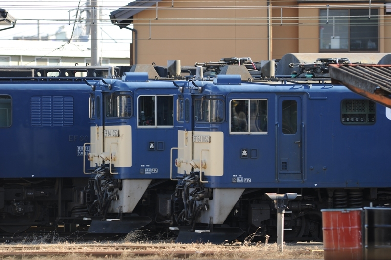 EF64 1052 1053高崎