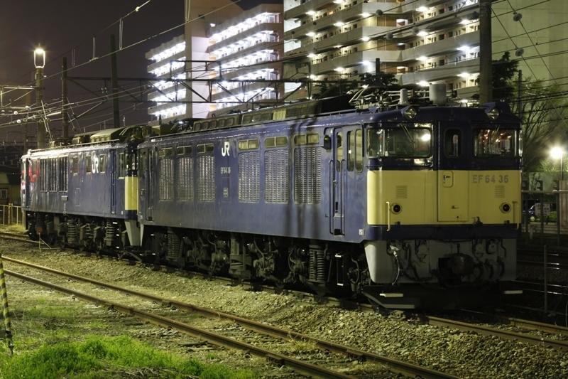 EF64 36+EF64 1014