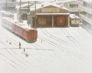 小田野尚之「雪の朝」