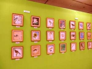 『日本画を描こう』展示2