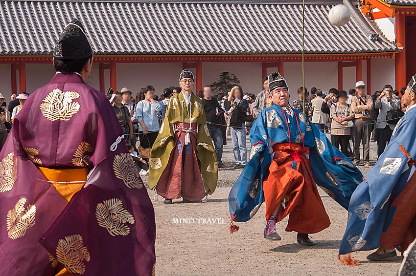 京都御所 蹴鞠2
