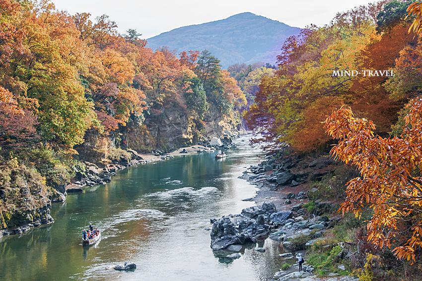 長瀞渓谷-紅葉2