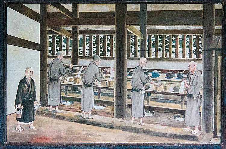 東福寺 東司の図