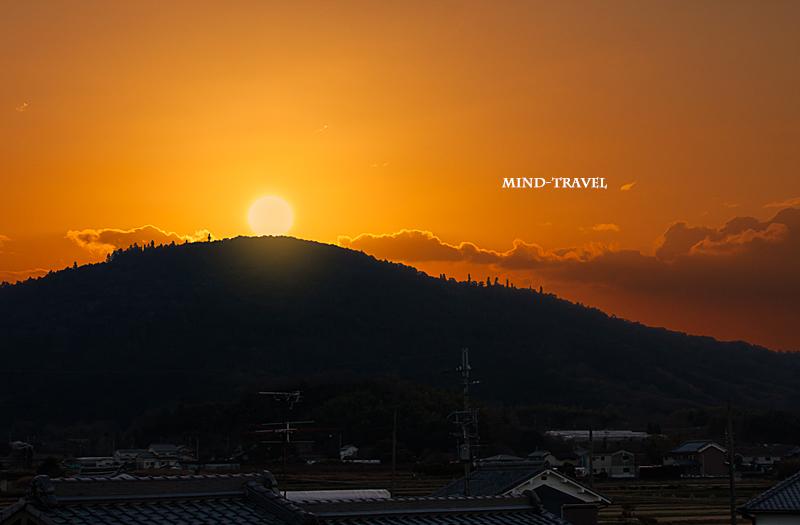 三輪山 日の出