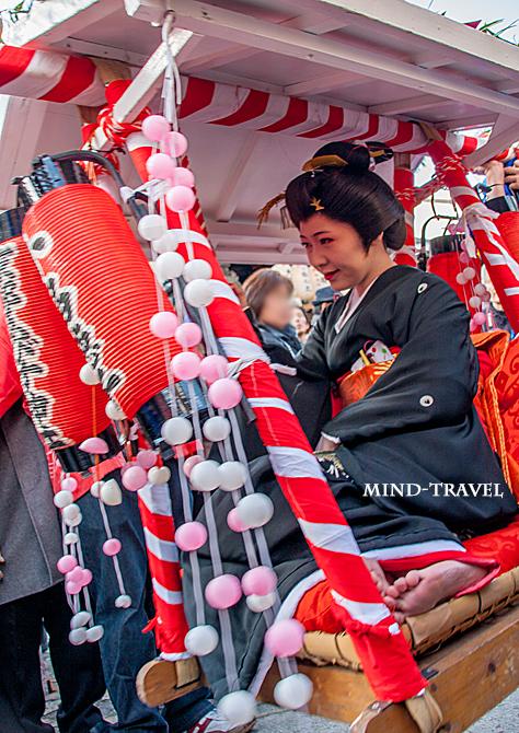 京都ゑびす神社 十日戎 宝恵籠