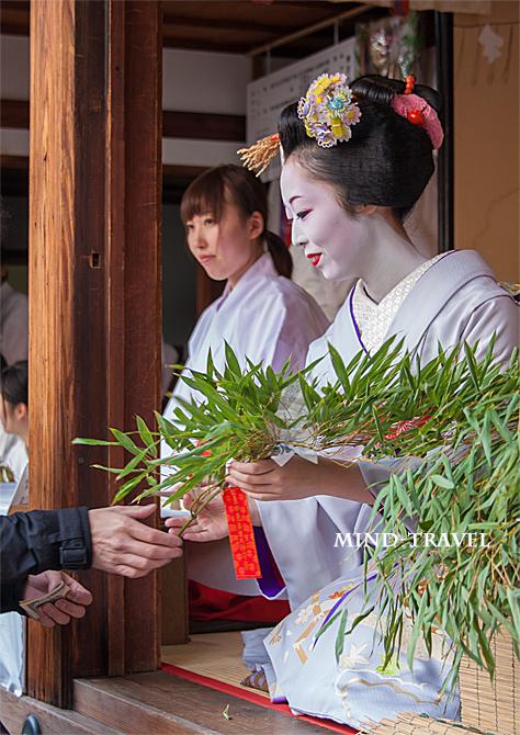 京都ゑびす神社 十日戎 舞妓さん