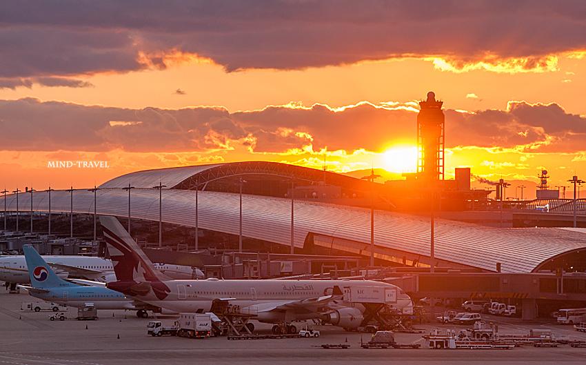 関西空港 夕景2