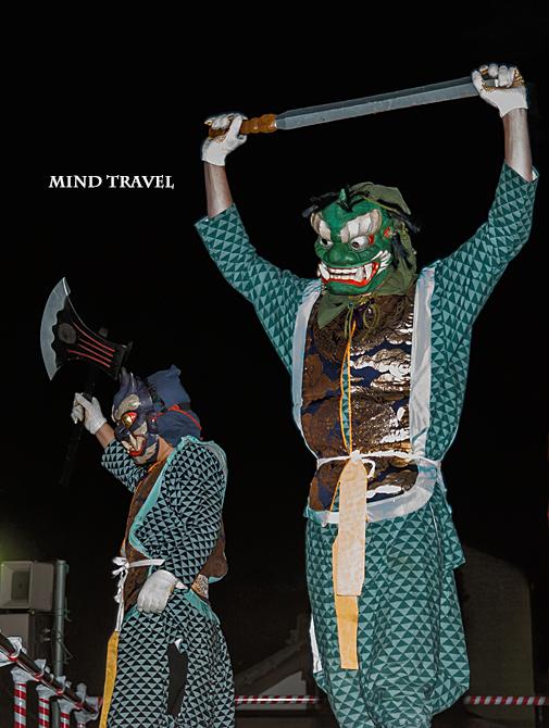 興福寺 追儺会 二匹の鬼