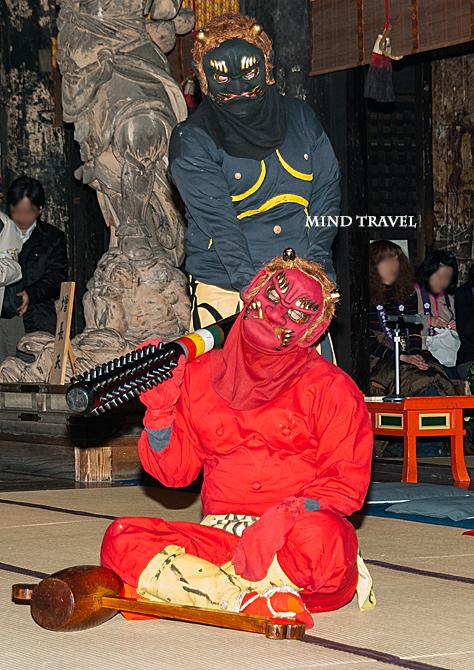 金峯山寺 蔵王堂 追儺会4