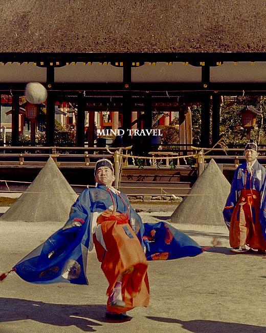 上賀茂神社 蹴鞠